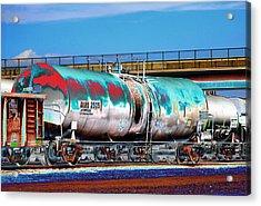 Graffiti - Toxic Tanker II Acrylic Print