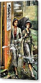 Graffiti Wall Murals Acrylic Print