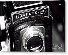 Graflex 22 Acrylic Print by John Rizzuto