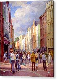 Grafton Street. Dublin Acrylic Print