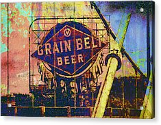 Grain Belt Beer Acrylic Print