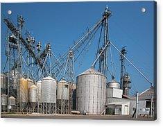 Grain Elevator Complex Acrylic Print