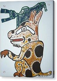Gran Jaguar Iv Acrylic Print by Juan Francisco Zeledon