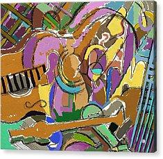 Acrylic Print featuring the digital art Granada by Clyde Semler