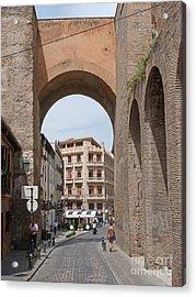 Granada Old City Gateway Acrylic Print by Phil Banks