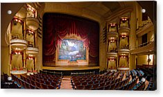 Grand 1894 Opera House - Orchestra Seating Acrylic Print
