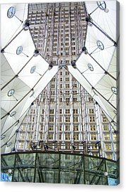 Grand Arche  Acrylic Print by Oleg Zavarzin