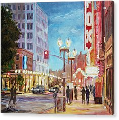 Grand Boulevard St.louis Acrylic Print