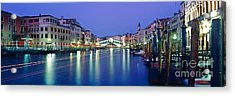 Grand Canal Acrylic Print by Rod McLean