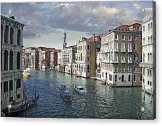 Grand Canal Acrylic Print by Harold Shull