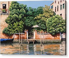 Grand Canal Oasis Acrylic Print by Michael Swanson
