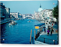 Grand Canal 1961 Acrylic Print by Cumberland Warden