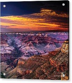 Grand Canyon  Arizona Acrylic Print by Ludmila Nayvelt