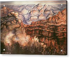 Grand Canyon Arizona - Landscape Art Painting Acrylic Print