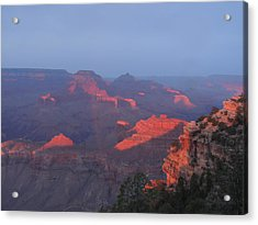 Grand Canyon At Sunset Acrylic Print
