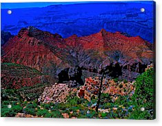 Grand Canyon Beauty Exposed Acrylic Print