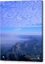 Grand Canyon Blues Acrylic Print by Alex Cassels