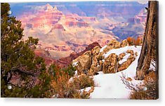 Acrylic Print featuring the photograph Grand Canyon by Bob Pardue