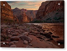 Grand Canyon Bottom Acrylic Print