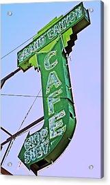Acrylic Print featuring the photograph Grand Canyon Cafe by Gigi Ebert