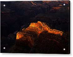 Grand Canyon Evening Acrylic Print by Andrew Soundarajan