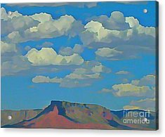 Grand Canyon Horizon Acrylic Print by John Malone