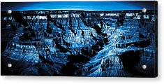 Grand Canyon In Blue Acrylic Print