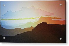 Grand Canyon Acrylic Print by John  Svenson