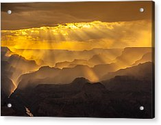 Grand Canyon Lightshow Acrylic Print