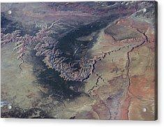 Grand Canyon Acrylic Print by Nasa