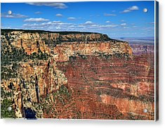 Grand Canyon North Rim Acrylic Print by Thomas  Todd