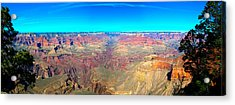 Acrylic Print featuring the photograph Grand Canyon Panorama by Penny Lisowski