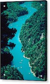 Gorges Du Verdon Acrylic Print by Kim Lessel