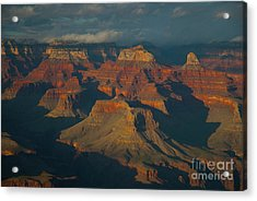 Acrylic Print featuring the photograph Grand Canyon by Rod Wiens