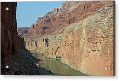 Acrylic Print featuring the photograph Grand Canyon Shadows by Tony Mathews