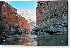 Acrylic Print featuring the photograph Grand Canyon Sky by Tony Mathews