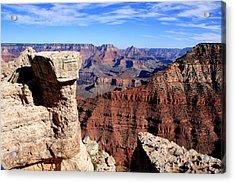 Grand Canyon - South Rim View Acrylic Print by Aidan Moran