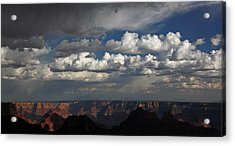 Grand Canyon Storm Acrylic Print