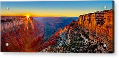 Grand Canyon Sunset Acrylic Print by Az Jackson