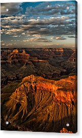 Grand Canyon Sunset Acrylic Print by Cat Connor