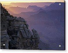Grand Canyon Sunset Acrylic Print