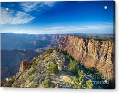 Grand Canyon - Sunset Point Acrylic Print by Juergen Klust