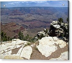 Acrylic Print featuring the photograph Grand Canyon View 2 by Philomena Zito