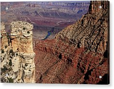 Grand Canyon View Acrylic Print by Aidan Moran