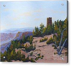 Grand Canyon Watchtower Acrylic Print