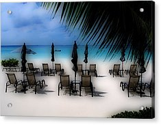 Acrylic Print featuring the photograph Grand Cayman Dreamscape by Caroline Stella