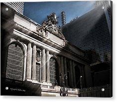 Grand Central #1 Acrylic Print by Aleksander Rotner