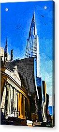 Grand Central #2 Acrylic Print by Aleksander Rotner