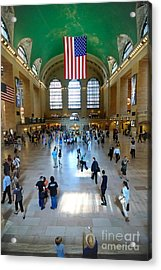 Grand Central Station New York City Acrylic Print