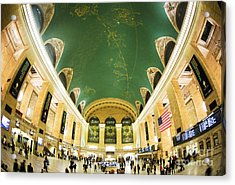 Grand Central Station New York City On Its Centennnial  Acrylic Print by Diane Diederich